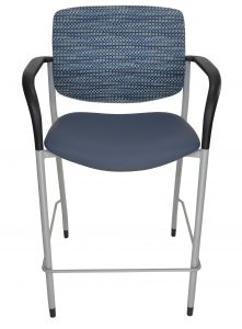 Jem Bar Stool, shown in blue