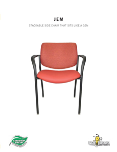 Jem Stackable Chair Brochure