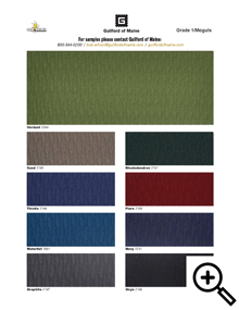 Guilford of Maine Moguls Grade 1 Fabric Swatches