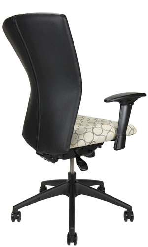 Bailey meeting room chair, back angle
