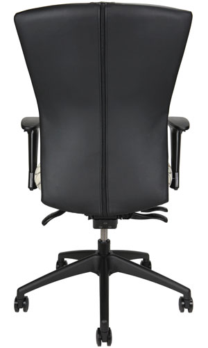 Bailey task chair, back view