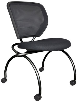 Black Caboodle Chair without arms