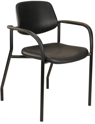 Hard-surface chair for medical environments