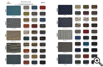 Momentum Fabric Swatches
