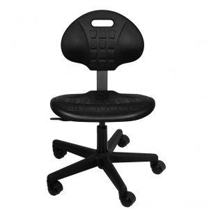 Polyurethane lab or industrial stool