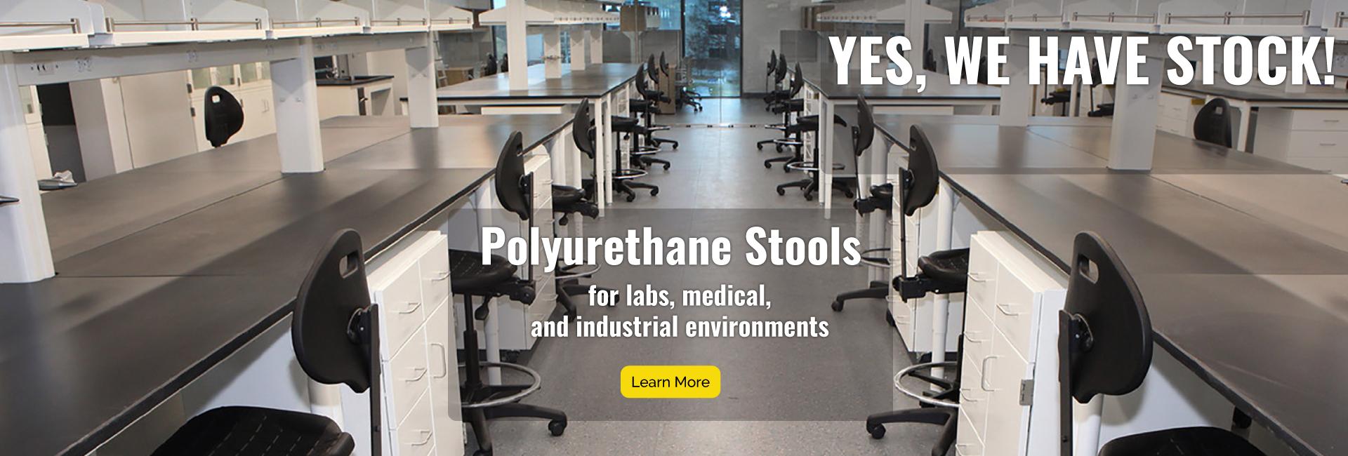 Polyurethane Industrial Stool In Stock