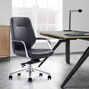 Midback Leather Office Chair